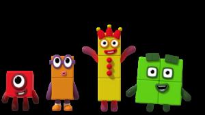 numberblocks Characters
